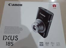 كاميرا كانون IXUS 185  مع استاند حامل كاميرا