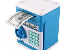 توجد كمية كبيره جديده للبيع حصالة إلكترونية مناسبة للأطفال بسعر 4 ريال