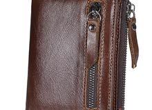 محفظة جلد اصلية