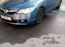 Honda Civic 2008 model for sale registration till 6/31/2021, in very good condit