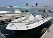 قارب نزهع للبيع 23 قدم موديل 2011 ، عدد 2 ماكينه ياماها كل ماكينه بقوة 200 .