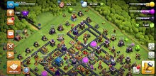 clash of clans account townholl 12