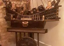 سفينة فرعونية  طول متر عرض نص متر