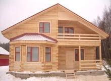 بناء منازل خشب بأحدث التصاميم الأوربية