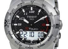 Tissot Watch (Men's T-Touch Expert Analog+Digital Watch)