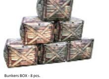 Inflatable Paintball Bunkers Set of 20 PCS Assorted