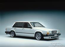 مطلوب سياره فولفو 740 تربو بحاله نظيفه جدا موديل 1987 ومافوق