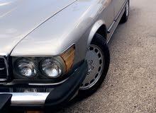 Gasoline Fuel/Power   Mercedes Benz SL 560 1989