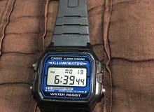 ساعة كاسيو ديجيتال بحالة جيدة جدا