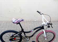 Stitch freestyle bmx city girl bike 22in wheel in excellent condition for sale