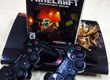 PS3+2Controlls+ Mincraft Edition.