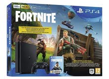 Buy Online Sony PlayStation 4 Slim 500GB Console + Fortnite at  $285