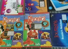 مجموعة كتب مدرسية ( Grade 1, KG) منهاج انترناشونال