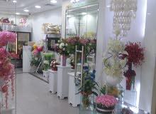 للبيع محل زهور راقي
