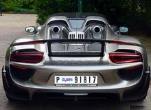 P 91817--- 918 للبيع رقم سياره دبي  مميز لسيارات البورش