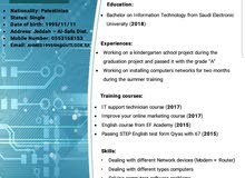 I AM LOOKING FOR I.T JOB