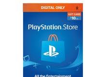 PlayStation Network $10 USD Code - 10 Dollar 10$ PSN US Store Card - PS4 PS3 USA