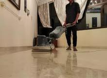 تنظيف المنازل والمباني الباطنه
