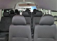 Toyota Hiace High Roof seats