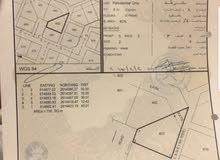 للبيع ارض سكنية 750م2 في المعبيلة على ثاني خط من شارع النور