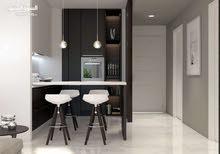 شقه غرفه وصاله جاهزه للسكن للبيع فى اكسبو 2020