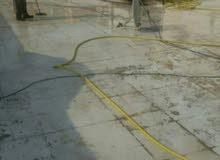عوازل للاسطح والحمامات ومعالجة الخرير وتشققات الاسطح وعمل حماية للاسطح جيتاروف