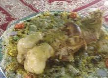 طباخ متنقل مع الغراض في الرياض الاكلات شعبي جميع الحفلات والمناسبات