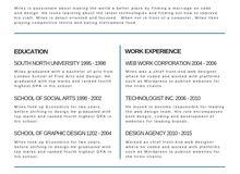 أحدث التصاميم الانفوجرافيك لعمل السيرة الذاتية للطلب