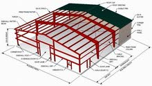 بناء الهناجر والمظلات وكافة الاشغال المعدنية ،بيوت زراعية ، ري محوري بيفت سنتر