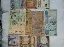 اوراق نقدية نادرة وبحالة جيدة