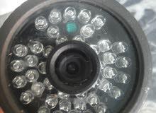 كاميرا مراقبه خارجيه مستعمله استعمال نظيف للبيع