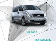 Hyundai H1 2017 for rent