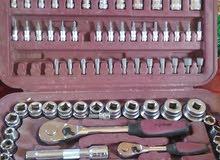 صندوق مفاتيح وبوكسات وأشياء اخرى عدد 110 قطعه kraftwerk الاصليه