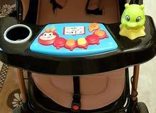 كرسي طعام وعرباية اطفال