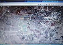 ارض سكن تنظيم ريفي اخضر للبيع-غرب عمان-منطقة بدر