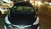 سياره هونداي الينترا 2015 للاجار  أو الضمان