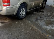 Used condition Mitsubishi Pajero 2005 with +200,000 km mileage
