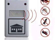 طارد الحشرات والفئران يعمل بصورة آمنة تماما