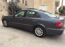 Blue Mercedes Benz E 200 2008 for sale