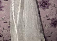فستان عروس مستعمل مره فقط رووعه