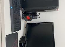 Gaming Custom PC (GTX 1080 Zotac AMP Edition + ASUS VG248QE Monitor)