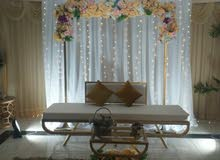 تاجير مستلزمات و الافراح الخدمات wedding decoration service