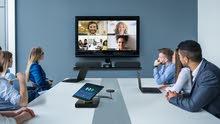 كمبيوتر مخصص للاجتماعات والعمل عن بعد بشاشة لمس قابلة للدوران 360 درجة