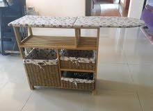 طاولة كوي خشبية