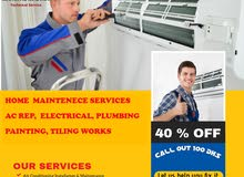 Home maintenance(AC,PLUMBING,ELECT,PAINT)