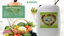 ECOLYTE FOOD DISINFECTANT SPRAY  FRUITS AND VEGETABLES DISINFECTANT 20L