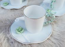 طقم قهوه ورده بارزه