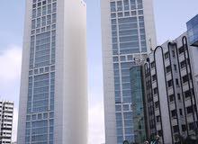 عمارة من 5 طوابق جديدة بالمعاريف جنب twin-center