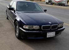 bmw  740 موديل 1998