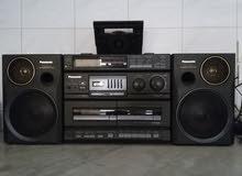 مسجلة مع راديو و قارئ سي دي باناسونيك مع جهاز تحكم - جمرايا الهامة -